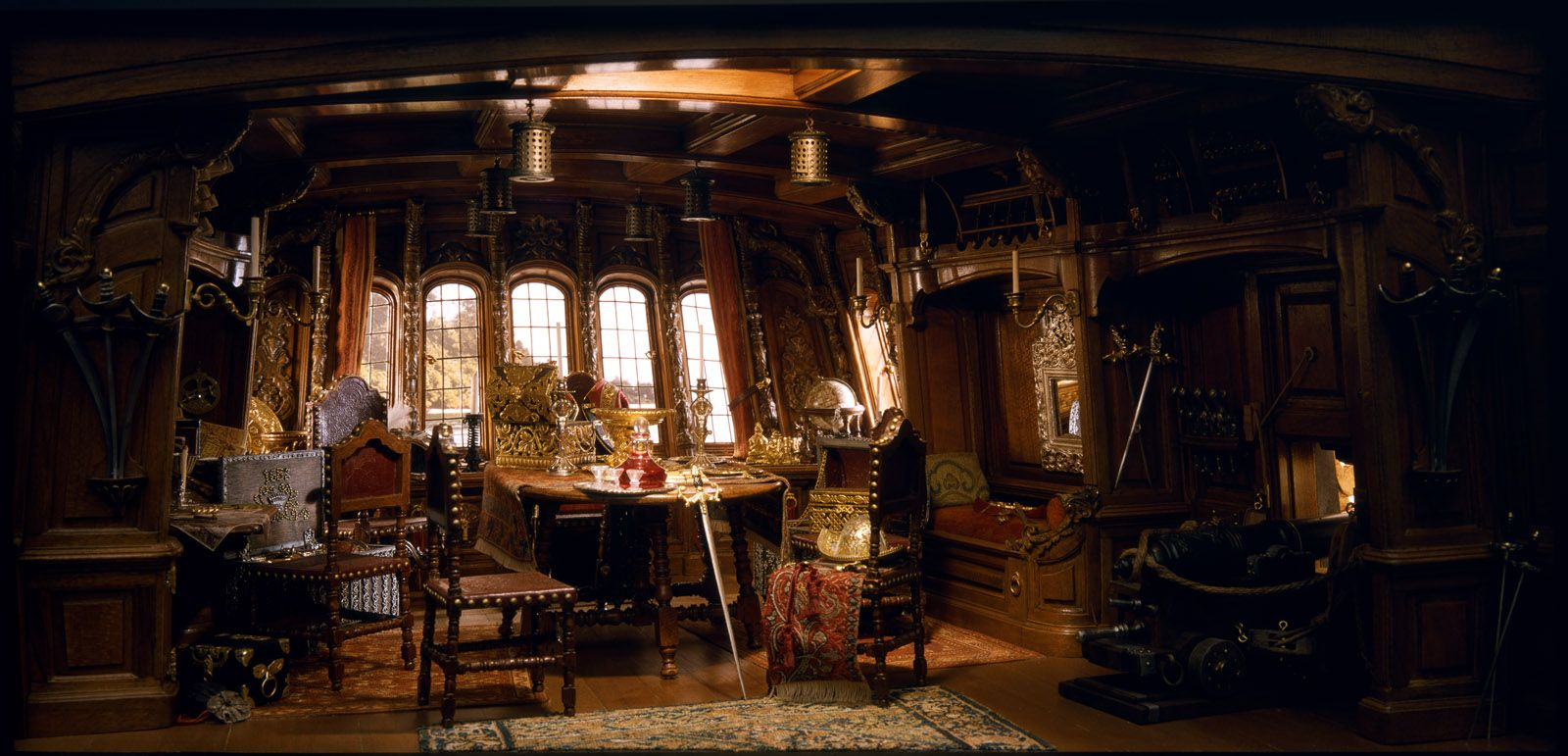 What Is The Captain S Room On A Ship Called