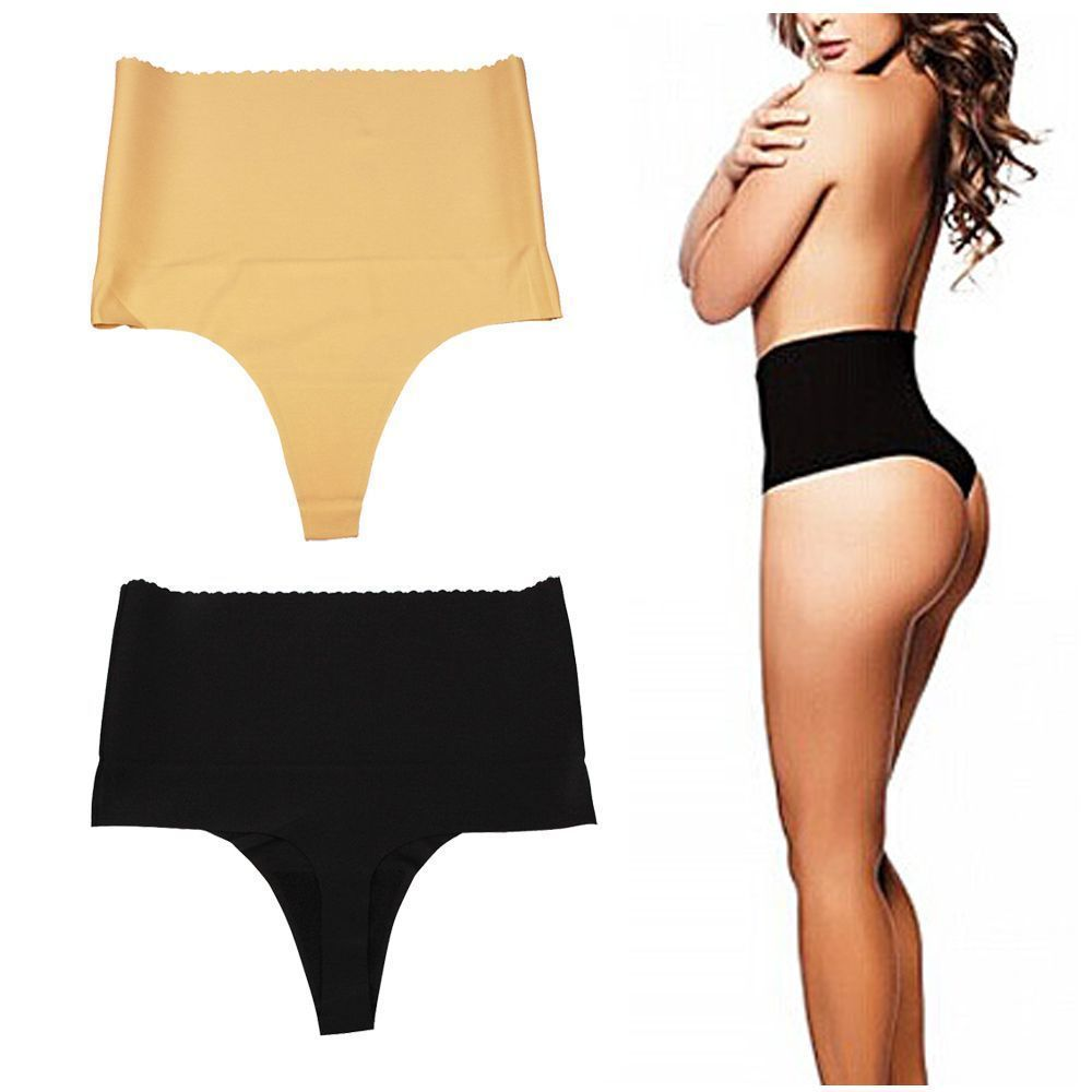 3fc05edd9a500 Body Shapewear High Waist Underwear Briefs Seamless Thong Thin Tummy