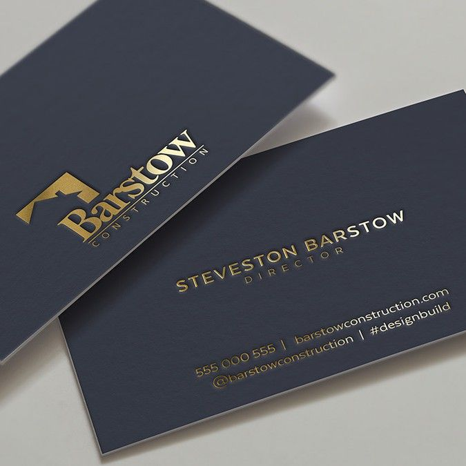 Custom Bespoke Home Builder Needs Business Cards By Ultrastjarna Business Card Maker Business Card Design Simple Business Card Design Creative