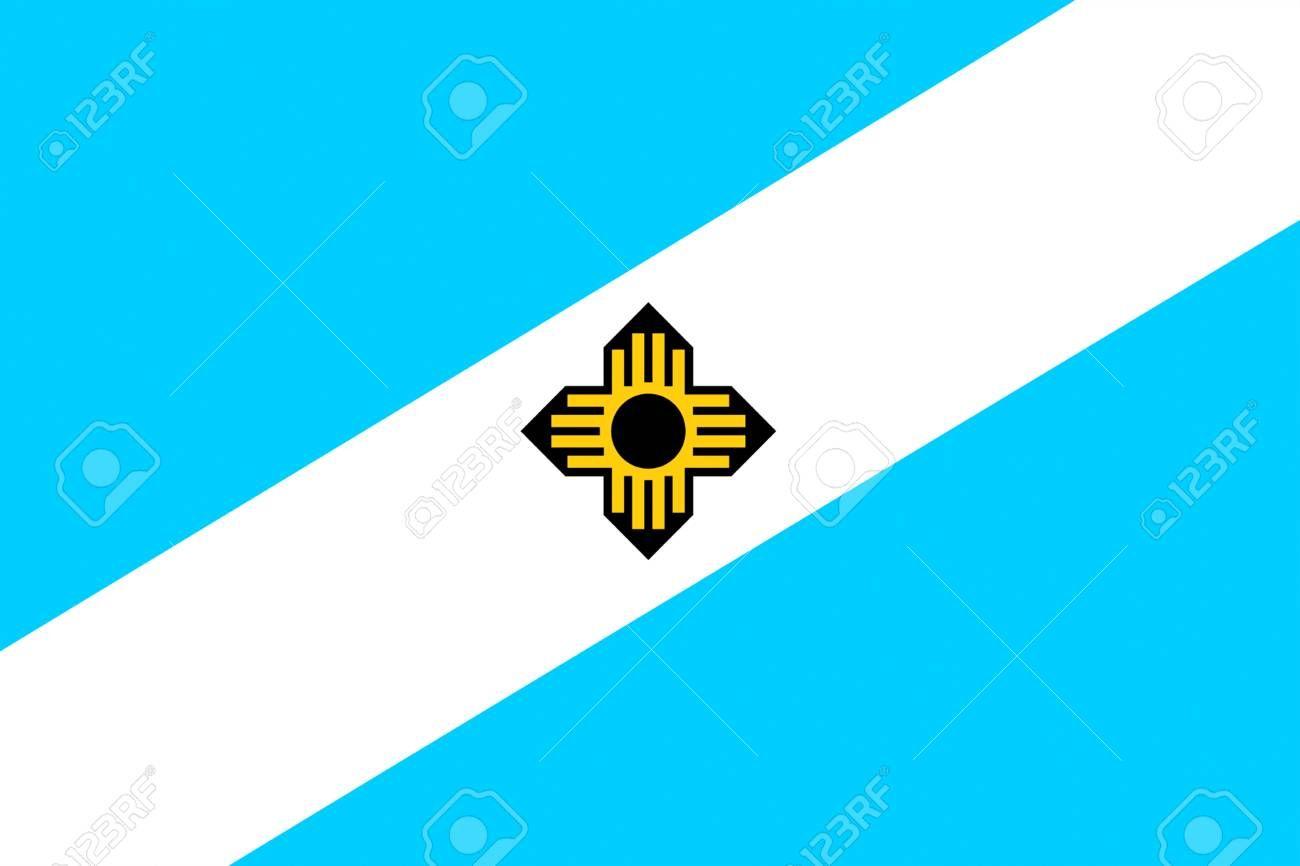 Bandera de Madison es la capital del estado de Wisconsin, Estados ...