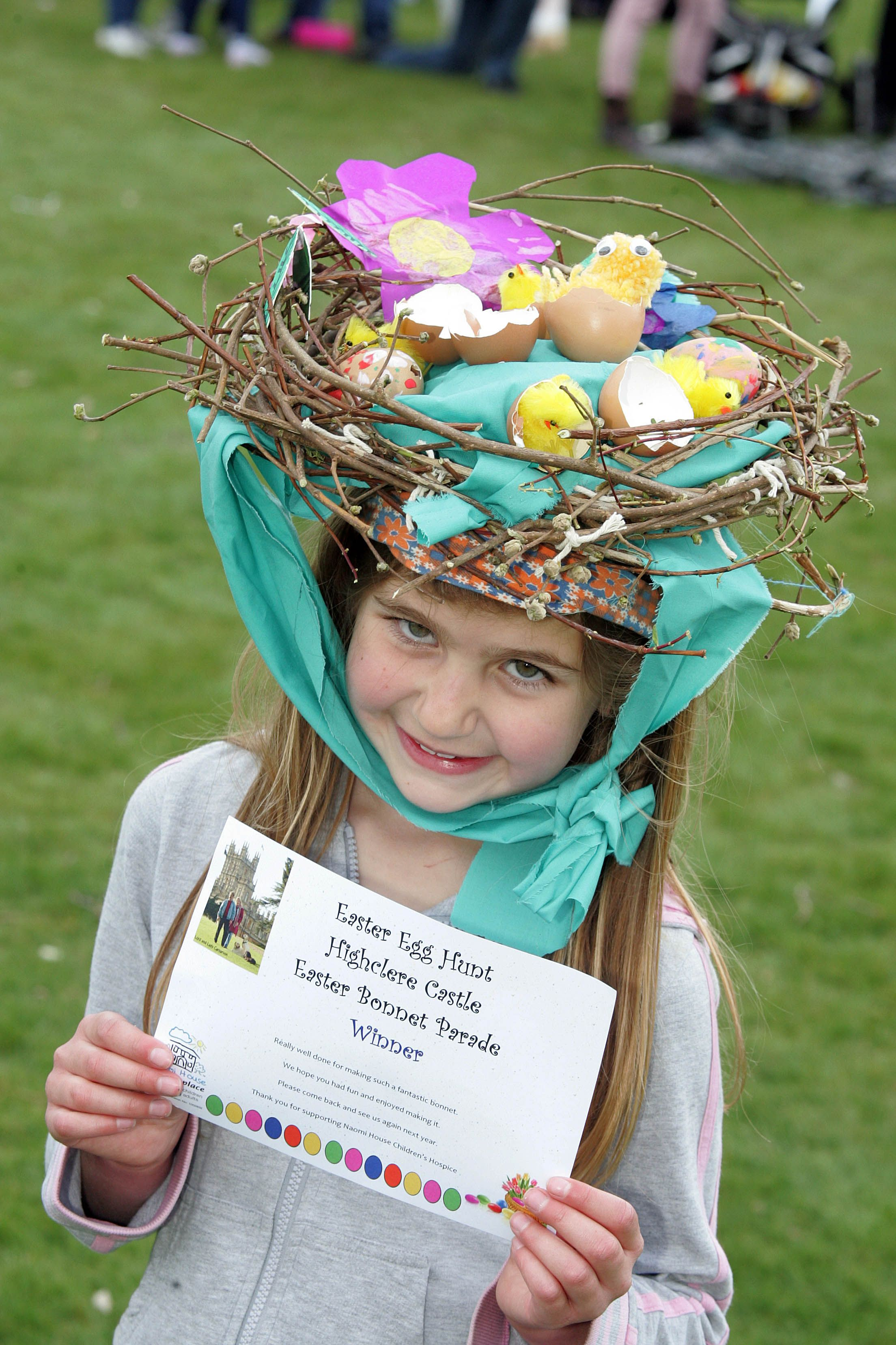 how to make easter hats bonnets