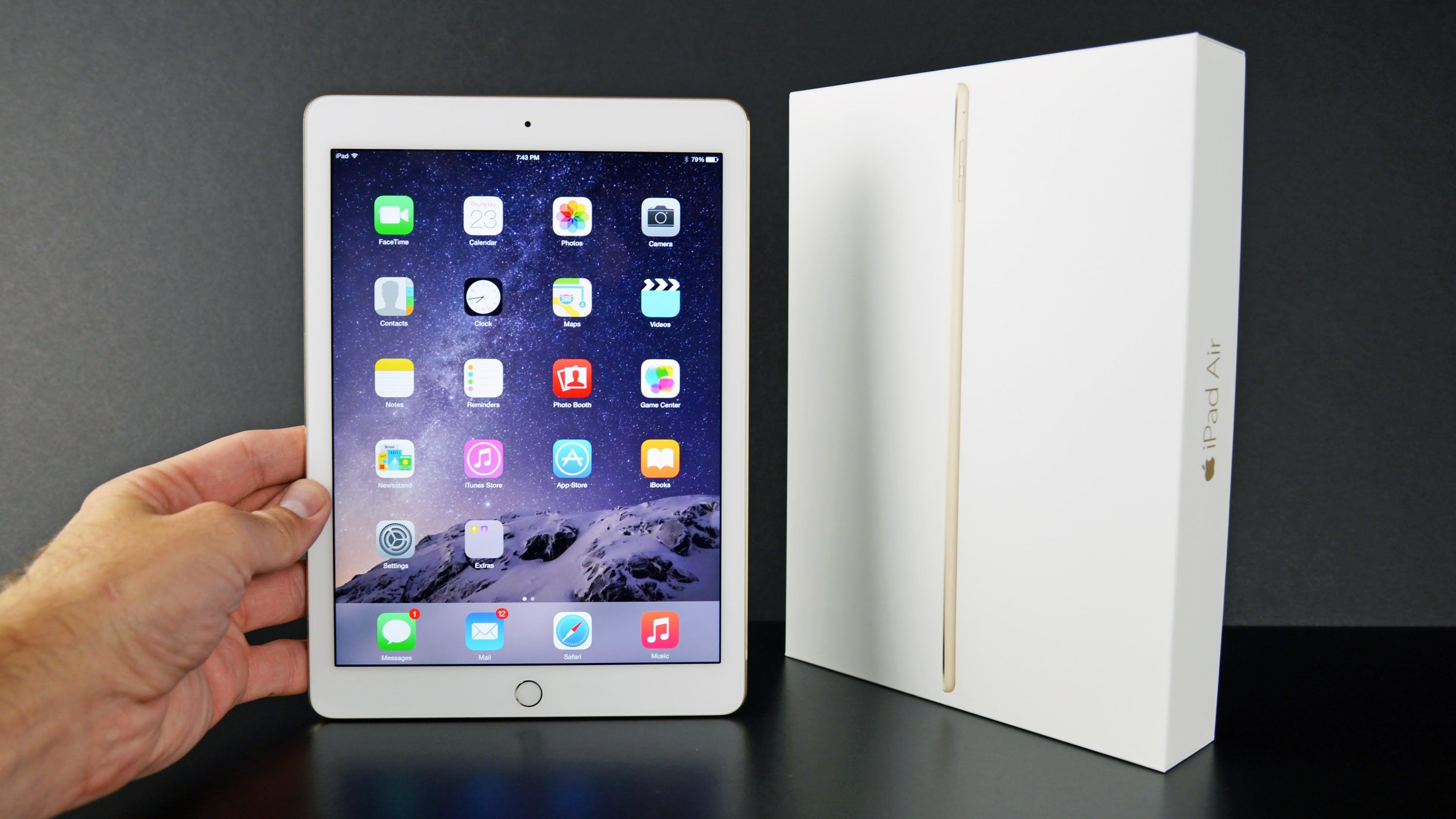 apple ipad air 2 unboxing review stuff to buy pinterest apples rh pinterest com Apple iPad iPad Icon
