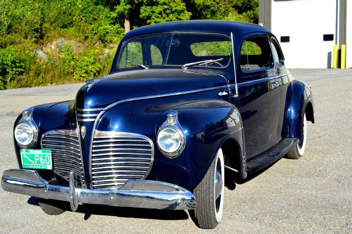 1941 plymouth deluxe business coupe