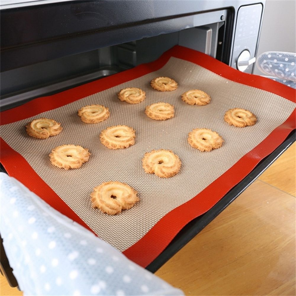 Silicone Baking Mat Dough Rolling Pastry Non Stick Sheet Oven Bakeware Pad 1Pc