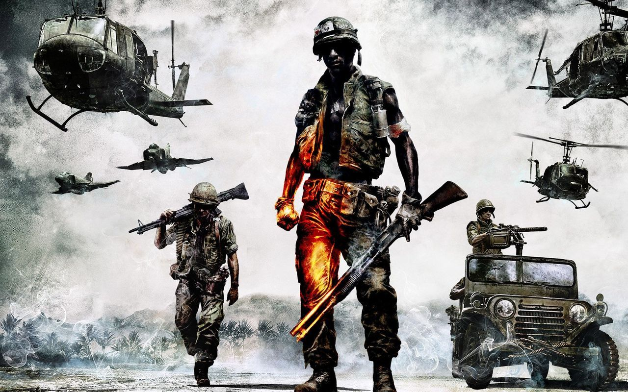 Battlefield Bad Company Hd Wallpaper 4 Army Wallpaper Military