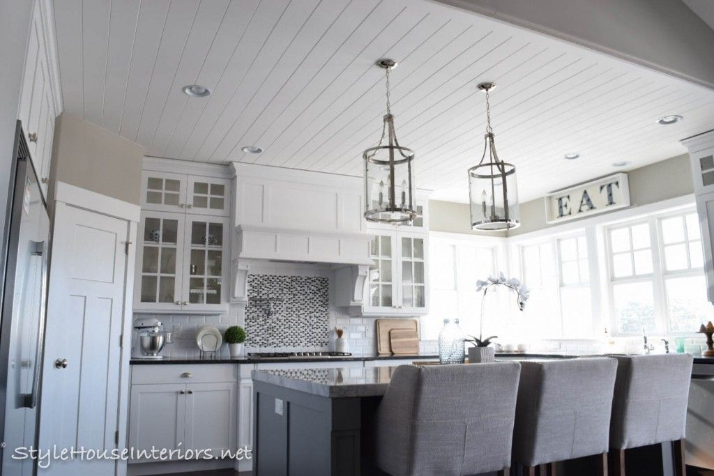 Shiplap Ceiling With Images Shiplap Ceiling Farmhouse