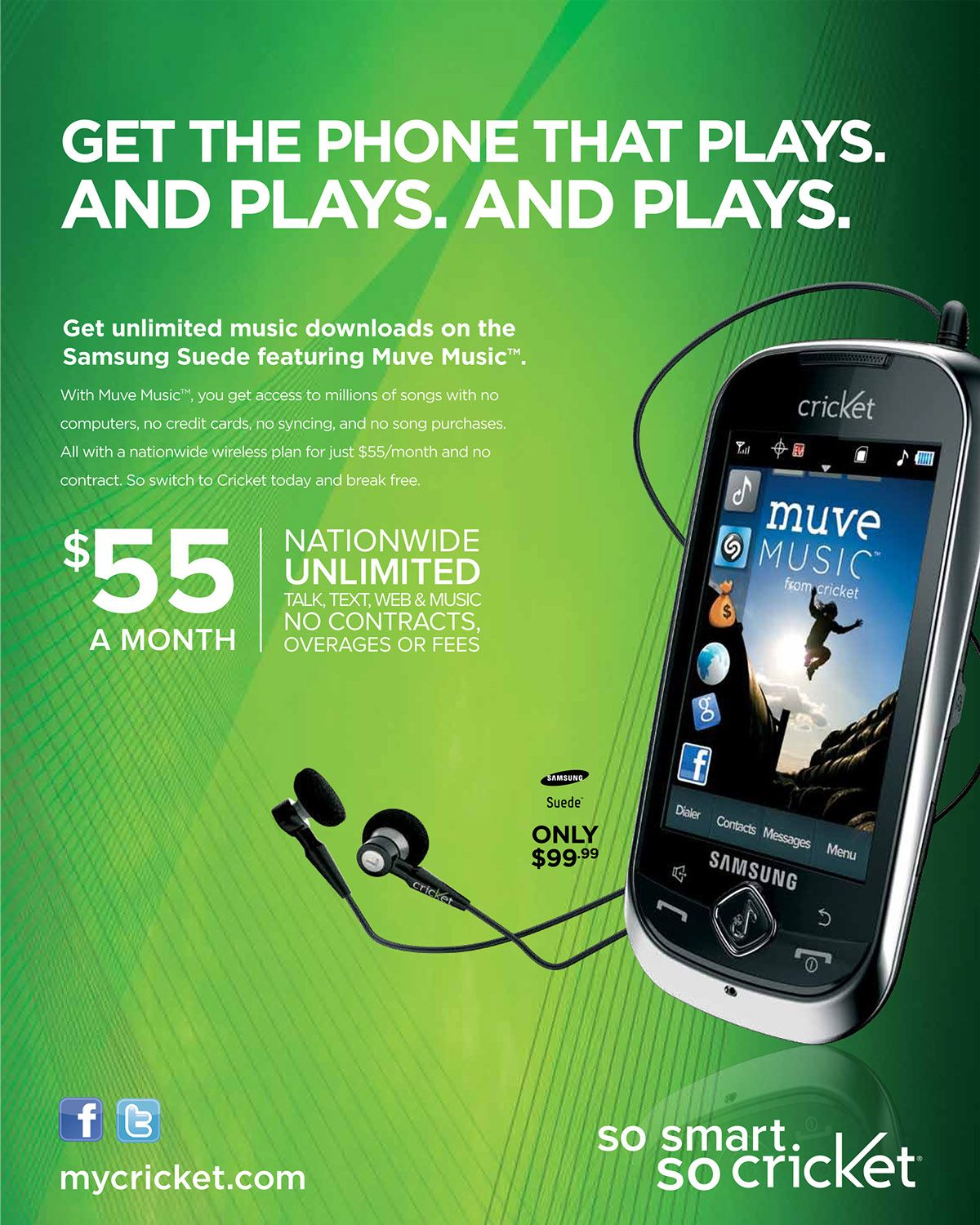 Cricket Wireless Print Ad Google Search