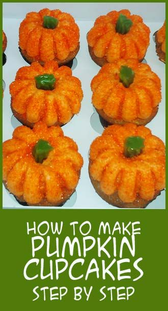 How to make Pumpkin Cupcakes step by step