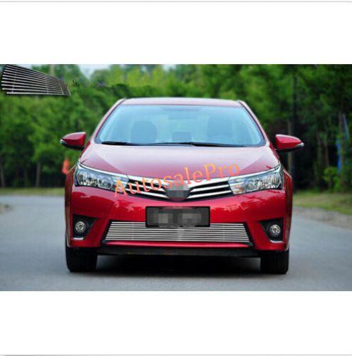Steel Front Bottom Grill Grid Grille Cover Trim For Toyota Corolla Altis Sedan 2014 2015 2016 Toyota Corolla Corolla Altis Sedan