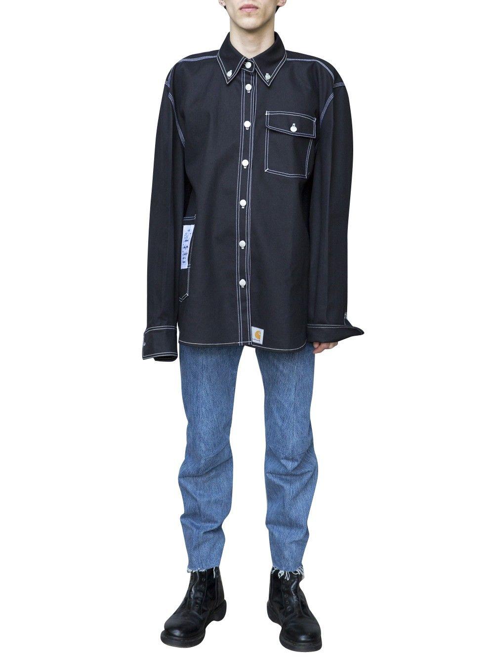 wide varieties half price best deals on VETEMENTS Vetements X Carhartt Shirt. #vetements #cloth ...