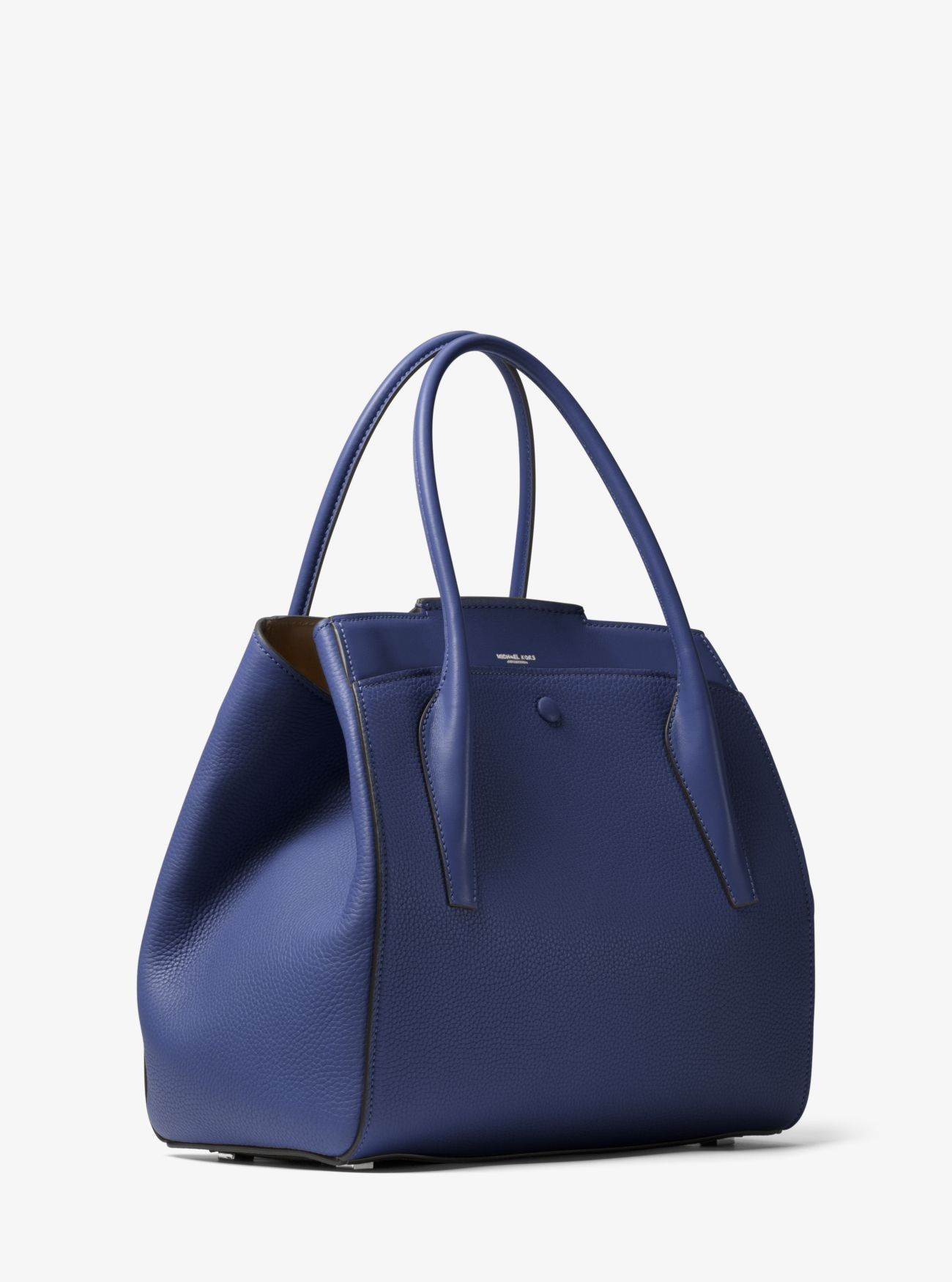 f24ddc7e51c7 Price Michael Kors Sapphire Bancroft Large Calf Leather Satchel Online Store