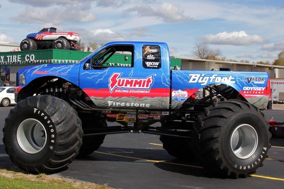 Blue Summit Monster Trucks Bigfoot Trucks