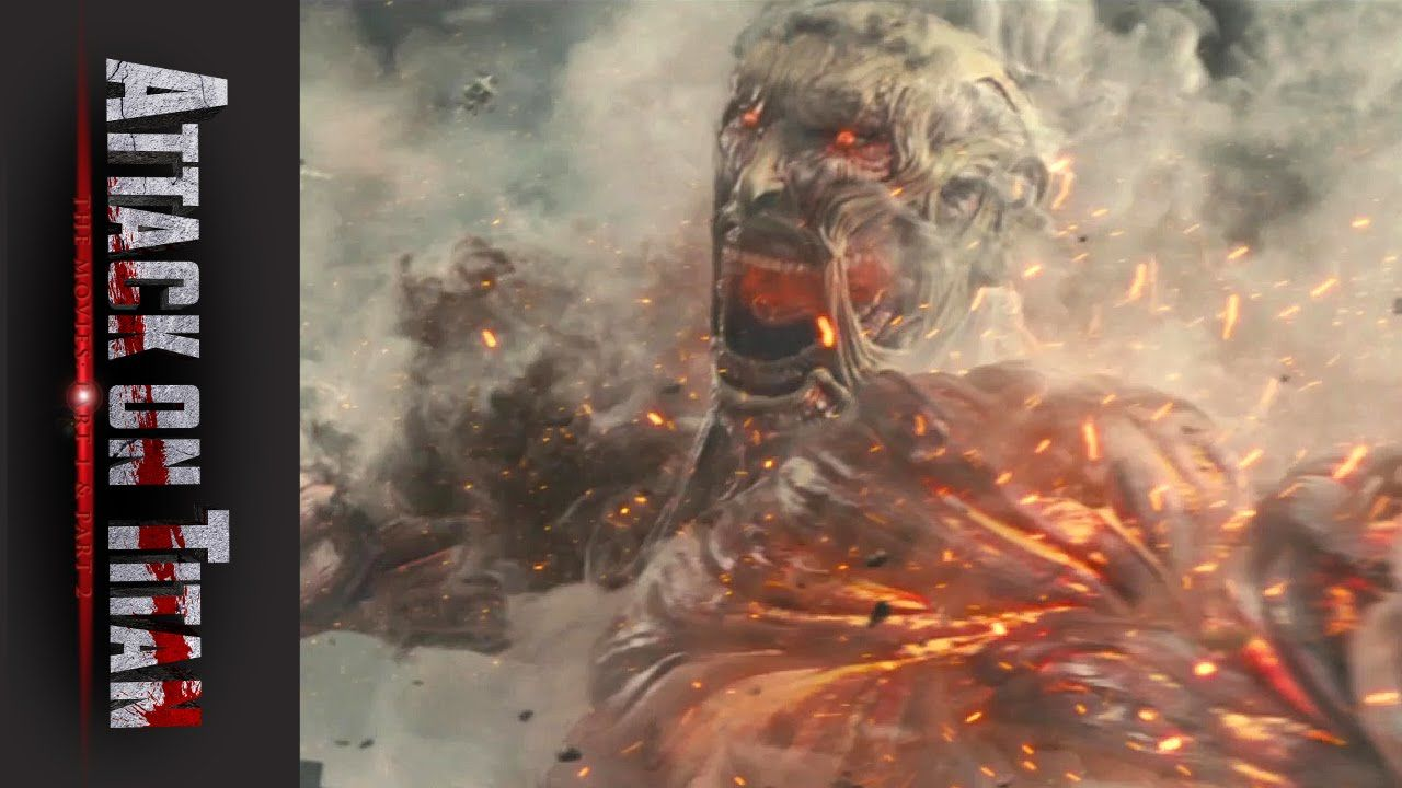 Attack on Titan, The Movies: Part 1 & 2 - Official Trailer ...