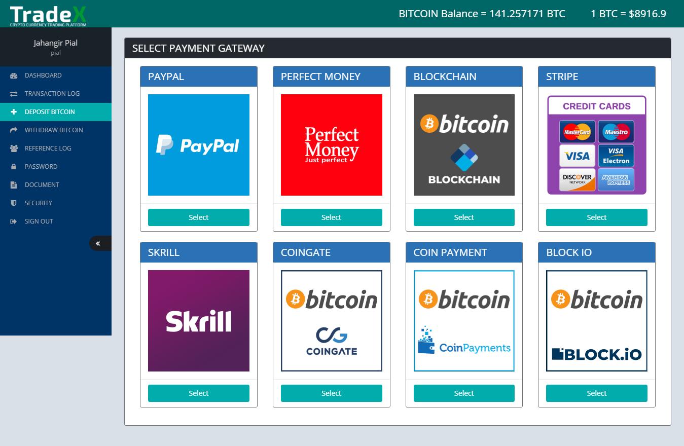 trade stocks and cryptocurrency platform