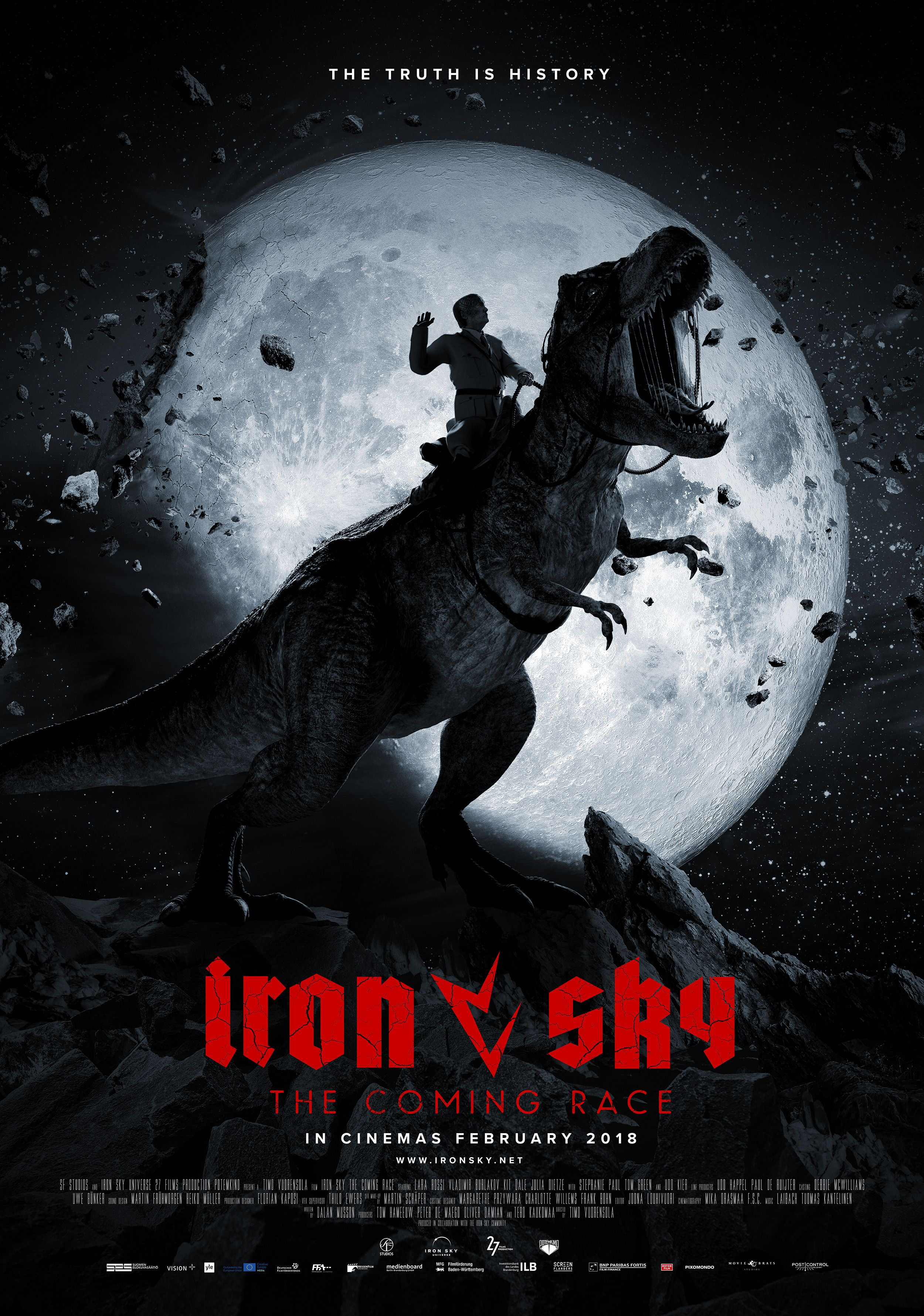 Iron Sky The Coming Race Teaser Poster Scandi The Coming Race Full Movies Race Film