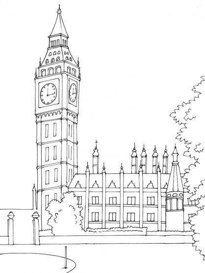 Résultat De Recherche Dimages Pour Londres Dessin Facile