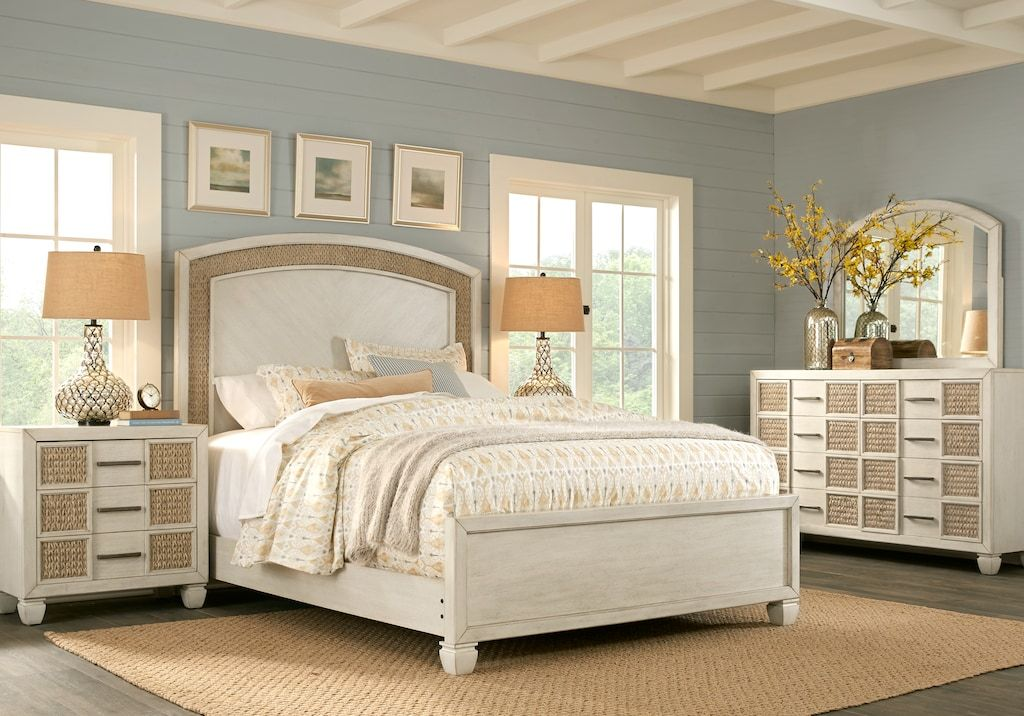 Calistoga 7 Piece Queen Bedroom Package Weathered Charcoal