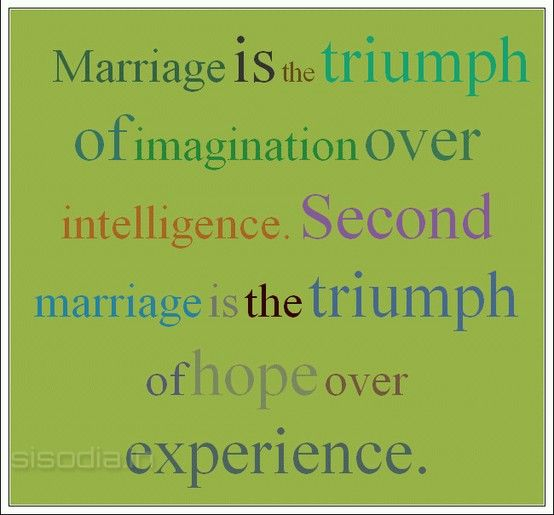 Are second marriages happier