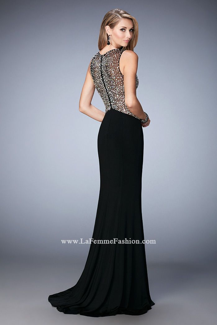 Look red-carpet-ready in Gigi Prom Style 22886 available at WhatchamaCallit Boutique
