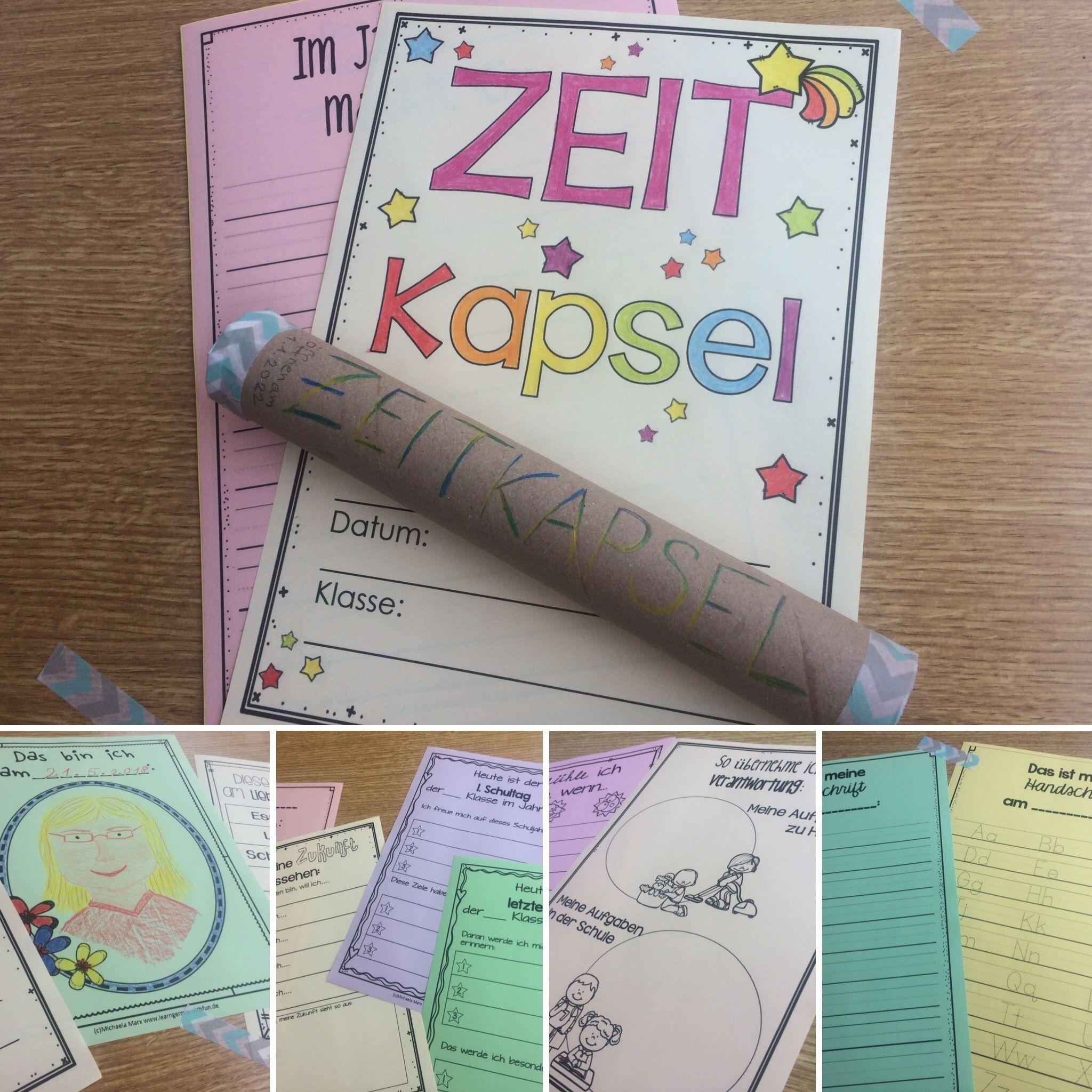 Photo of Zeitkapsel Aktion für das Schuljahresende und Jahresanfang in der Grundschule – Unterrichtsmaterial im Fach Fachübergreifendes