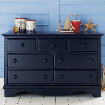 Best Navy Blue Painted Dressers Painted Dark Blue Walden Dresser Midnight Blue 7 Drawer 640 x 480