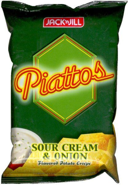 Piattos Sour Cream Amp Onion Filipino Chips Are The Best Creamed Onions Sour Cream Snacks