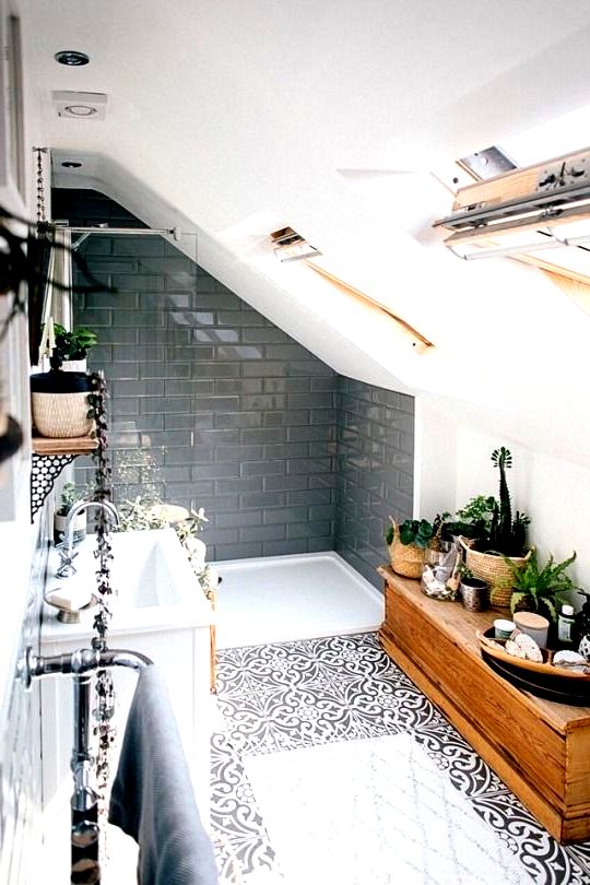 Vintage Badezimmer Inspiration Badezimmer Inspiration Vintage In 2020 Natural Home Decor Decorating Small Spaces Bathroom Inspiration