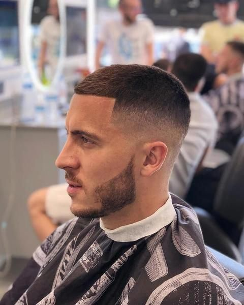 How To Get The Eden Hazard Haircut 2018 MensFashionStyle
