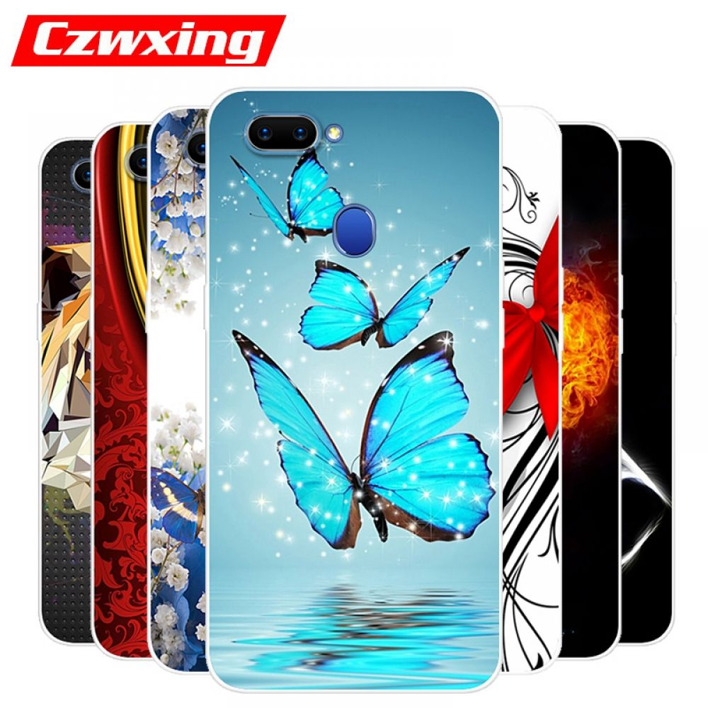 detailed look 03ab4 3d7a3 OPPO A5 Case OPPO A5 CPH1809 Case Silicone TPU Cover Soft Phone Case ...