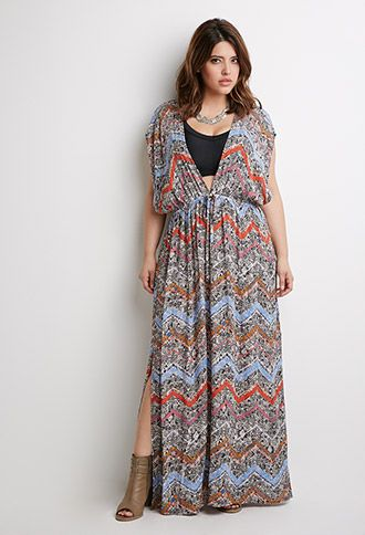 Tribal Print Coverup | Forever 21 PLUS | #f21plus | forever21 | plus ...