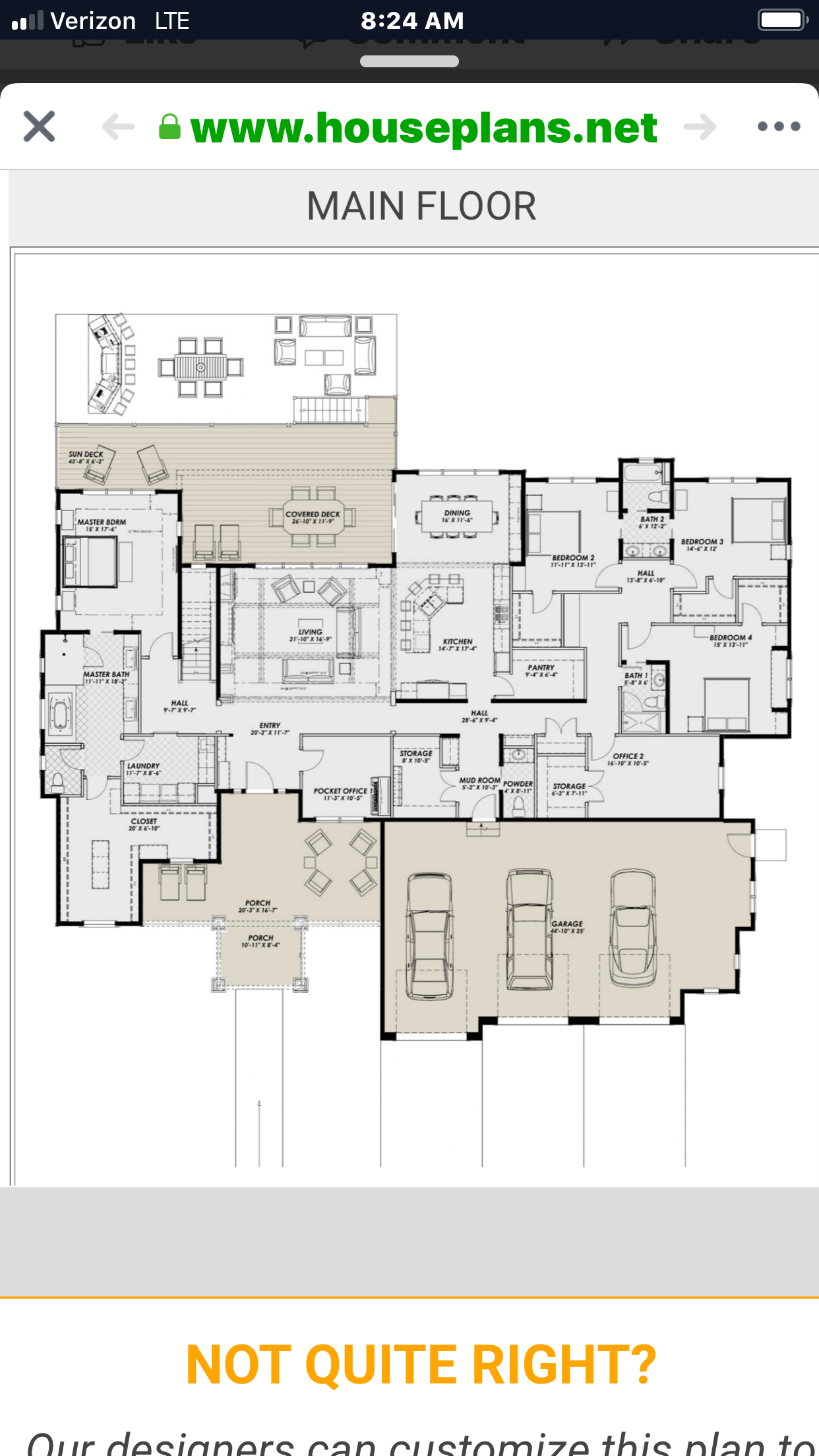 This House Plan Is Mine Dream House Plans House Floor Plans House Plans