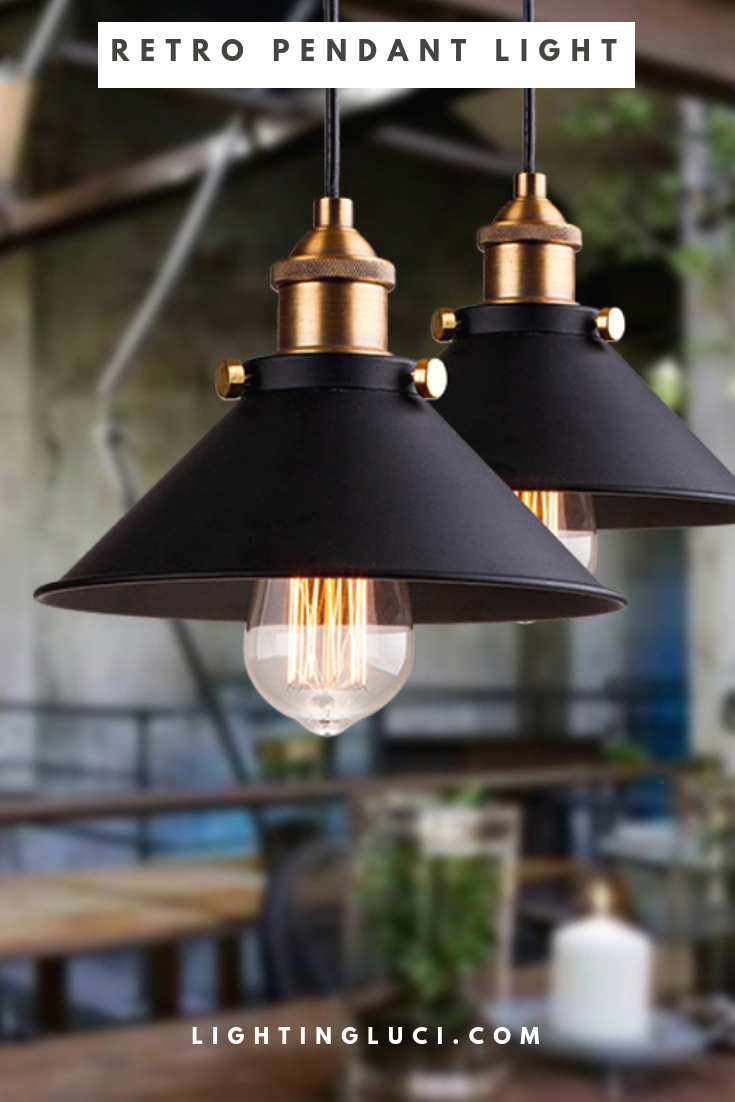 Beautiful nordic industrial pendant light with free shipping
