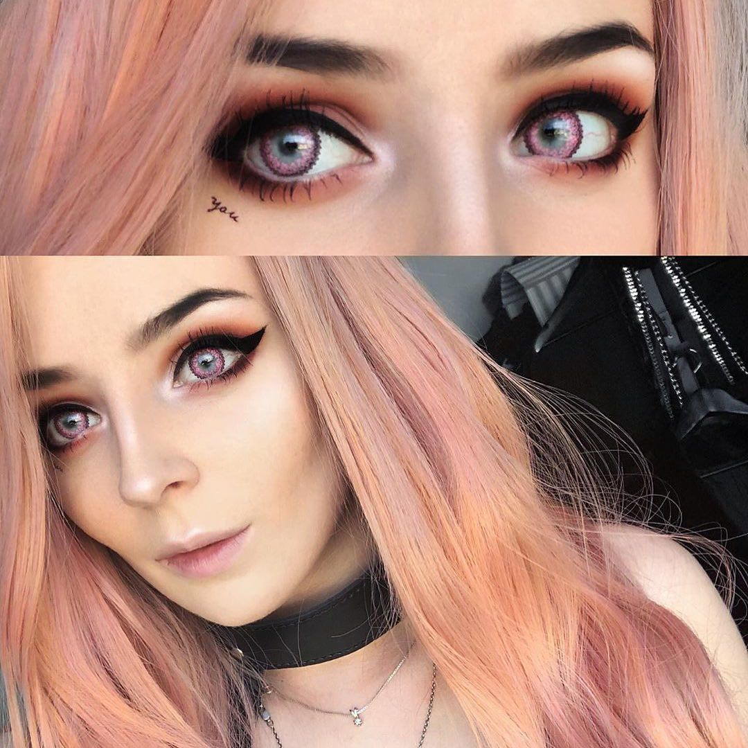 Musepink Enlarge Your Pupils And Special Pattern On Outer Ring Very Girlish Makeup Make You Different T Insta Fashion Shopping Outfit Global Fashion