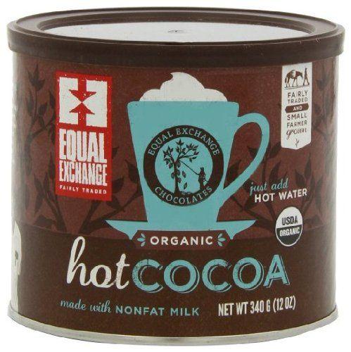 Amazon.com: Equal Exchange Organic Hot Cocoa Chocolate -- 12 oz