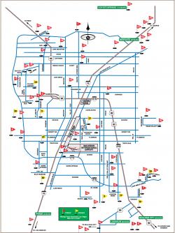 Map Of Las Vegas Golf Courses : vegas, courses, Vegas, Courses, World, Atlas