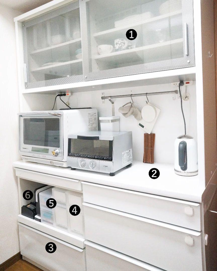 キッチン収納 使いやすい食器棚って わたしがラクする食器棚の収納