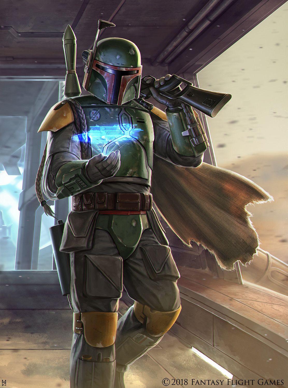 Boba Fett By Matt Zeilinger Star Wars Images Star Wars Bounty