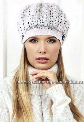 модные вязаные шапки крючком красивая шапочка вязаные шапки