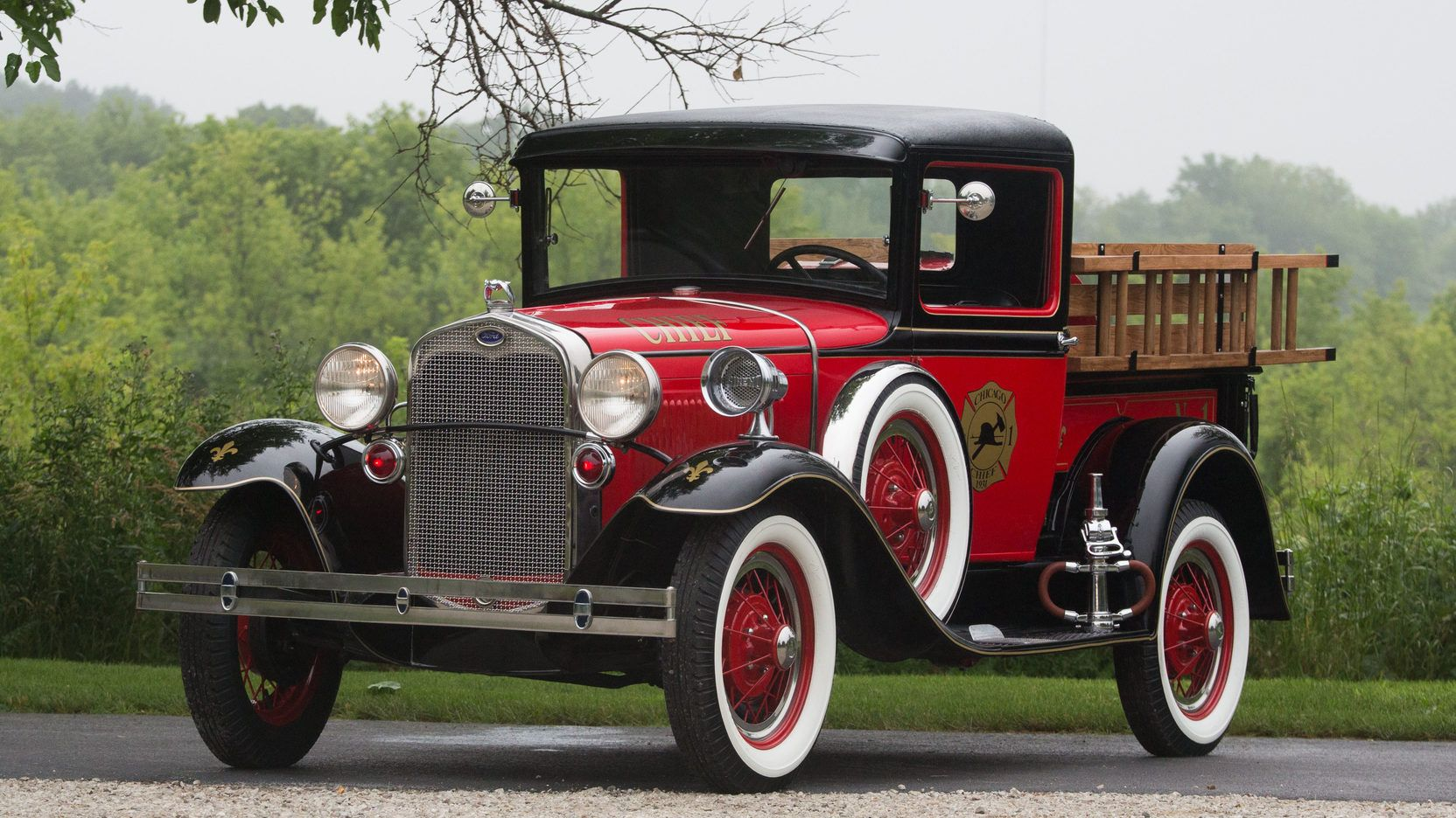 1930 Ford Model A Fire Truck presented as Lot S39.1 at Schaumburg ...