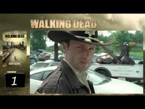 The Walking Dead first opening scene - Rick shoots little girl - YouTube