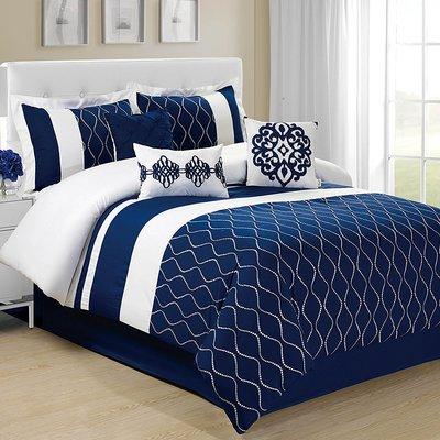 Wrought Studio Whalan 7 Piece Comforter Set Size Queen In 2020