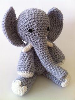 PATTERN: Ellis the Elephant - crochet elephant - amigurumi ... | 320x239