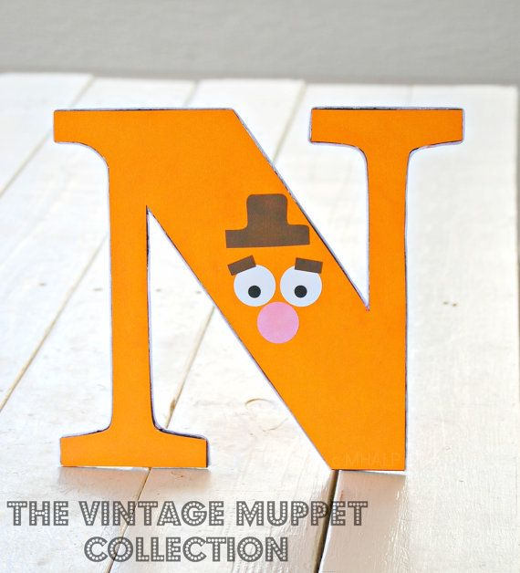 The Vintage Muppet Collection - Custom Tabletop Decorations from Mary Had a Little Party