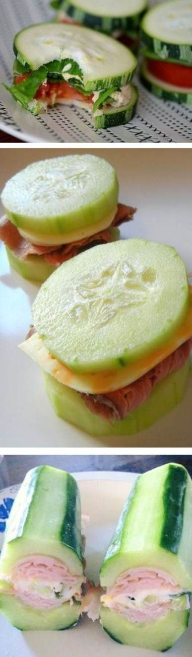 Best Diet Lunch Recipes Low Carb Cucumber Sandwiches 55+ Ideas #diet #recipes