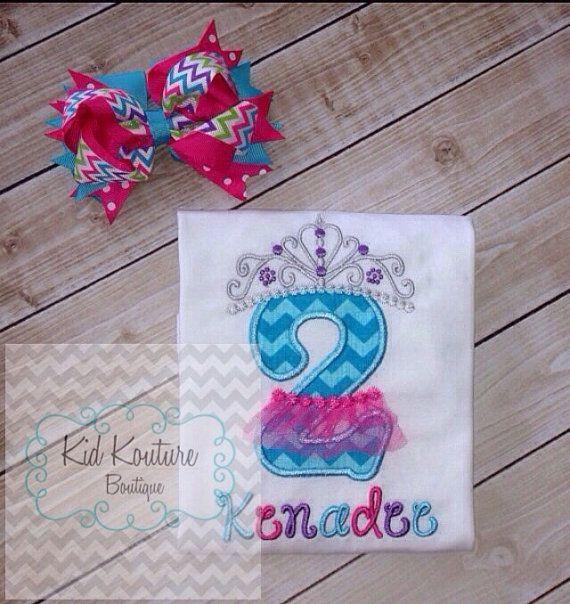 Tutu Princess Birthday shirt by KoutureKid on Etsy