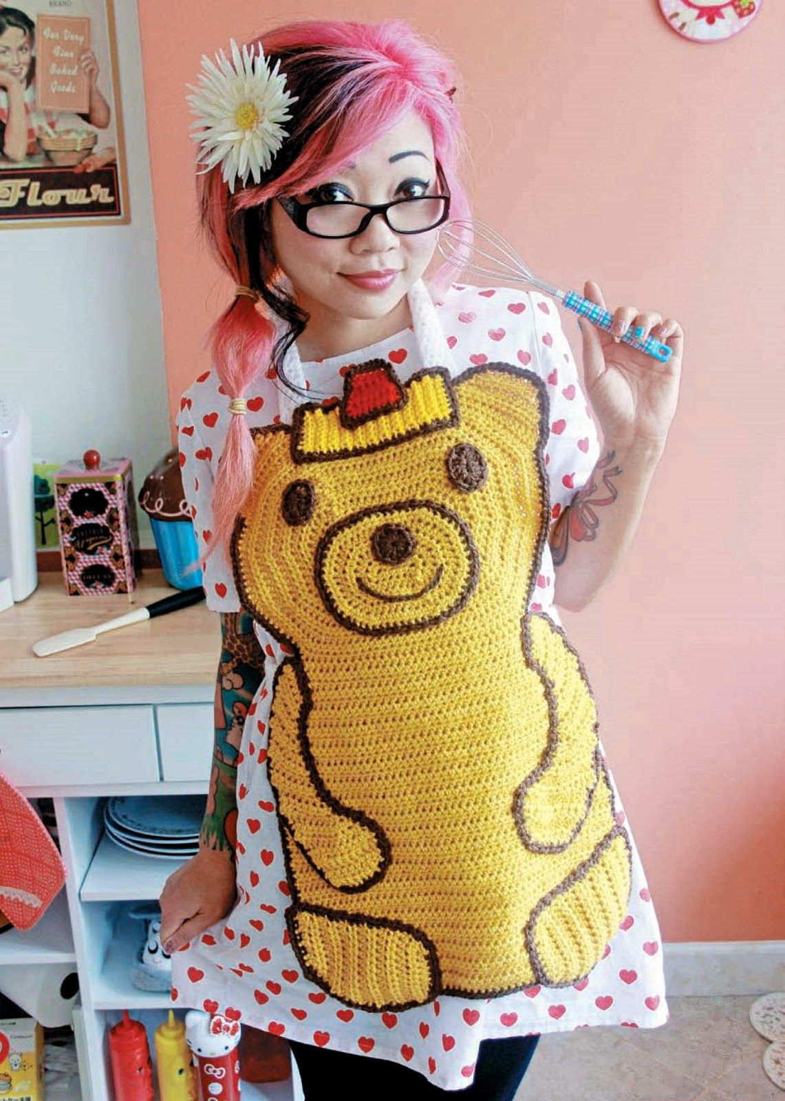 Crochet Designer And Craft Superstar Twinkie Chan Is Back With Her Highly Anticipated Book Crocheted Abode A La Mode Twinkie Chan Crochet Food Crochet Projects
