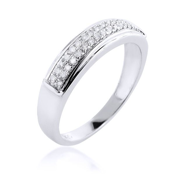 Womens Sterling Silver Wedding Bands
