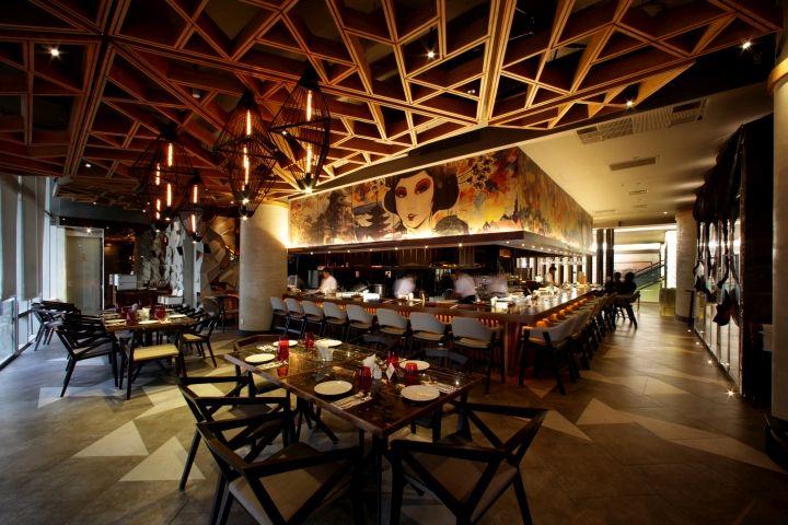 Bam Senju Restaurant By Metaphor Interior At Plaza