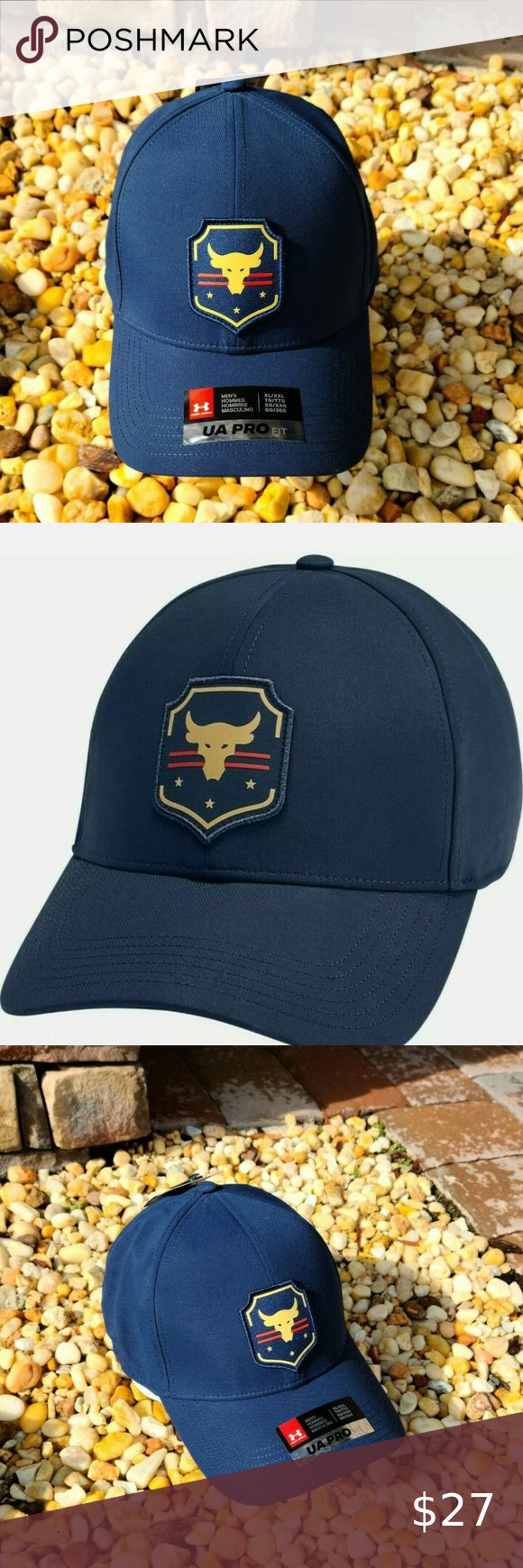 Under Armour Ua Men S Project Rock Str Iron Will Under Armour Ua Men S Project Rock Str Iron Will Collection Hat Xl Xxl New Under Armour Man Projects Armour