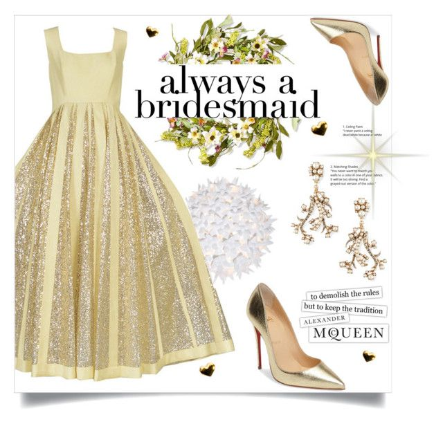 Always A Bridesmaid By Katerina1500 Liked On Polyvore Featuring Kartell National Tree